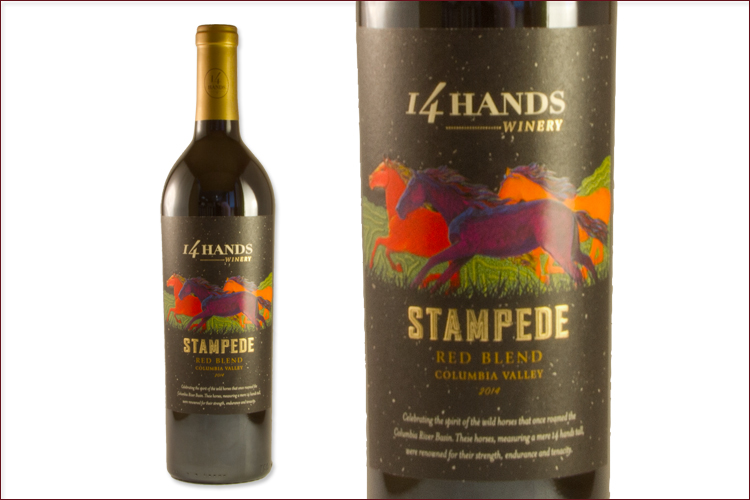 14 Hands Winery 2014 Stampede Red Blend