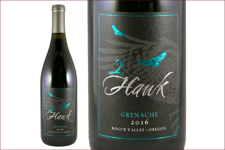 2Hawk Vineyard & Winery 2016 Grenache