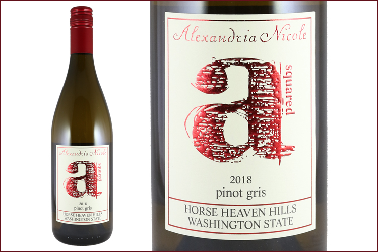 Alexandria Nicole Cellars 2018 A Squared Pinot Gris