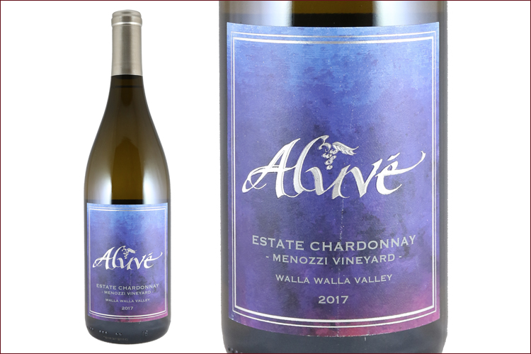 Aluve 2017 Estate Chardonnay Menozzi Vineyard