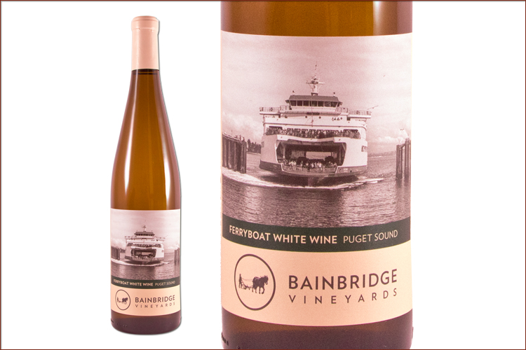 Bainbridge Vineyards Ferryboat White (NV)