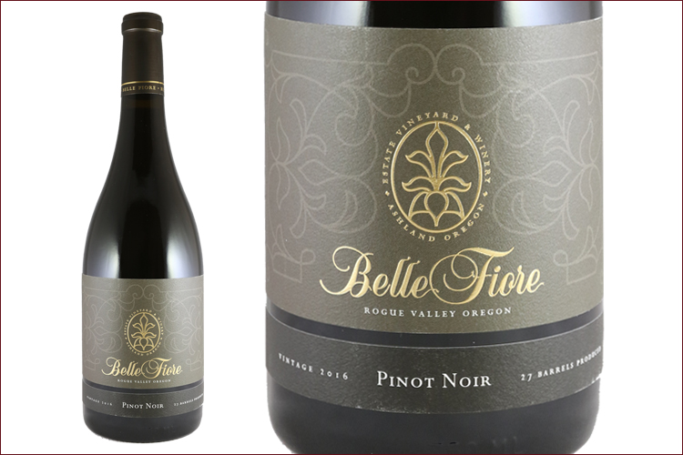Belle Fiore Winery 2016 Pinot Noir