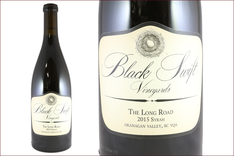 Black Swift Vineyards 2015 The Long Road Syrah