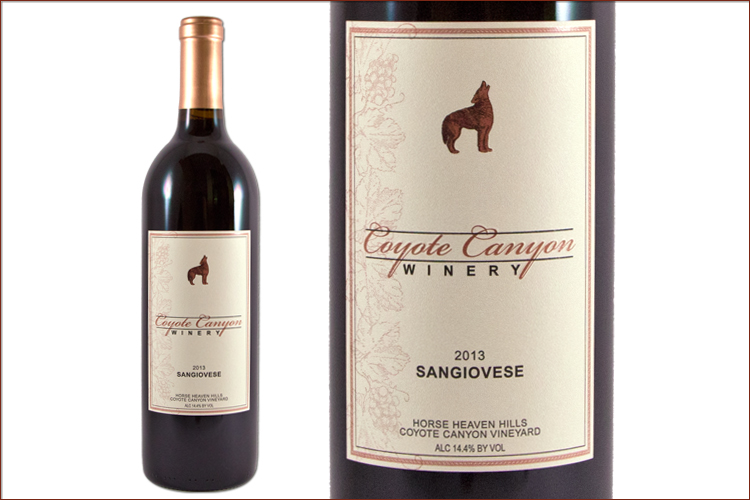 Coyote Canyon Winery 2013 Sangiovese