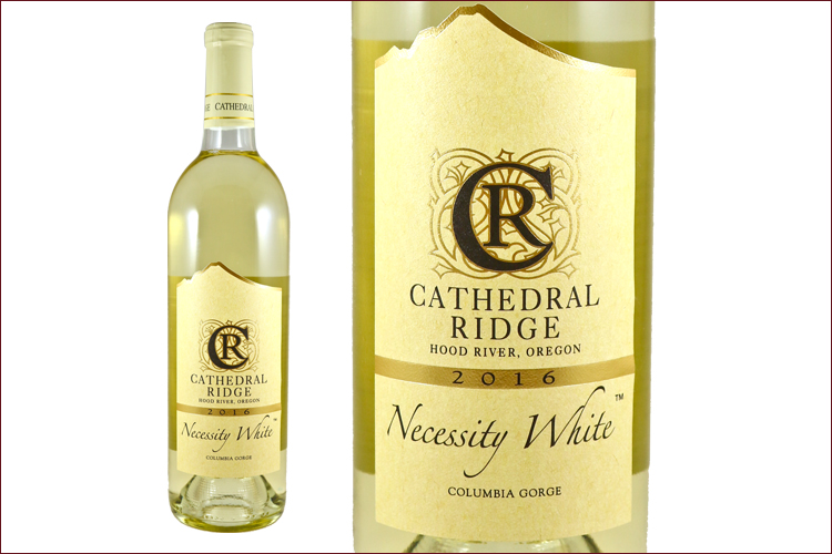 Cathedral Ridge Winery 2016 Necessity White