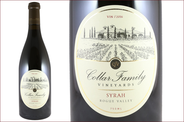 Collar Family Vineyards 2016 Syrah
