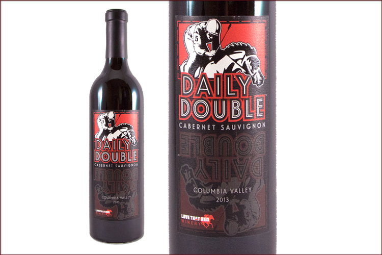 Love That Red Winery Daily Double 2013 Cabernet Sauvignon wine bottle