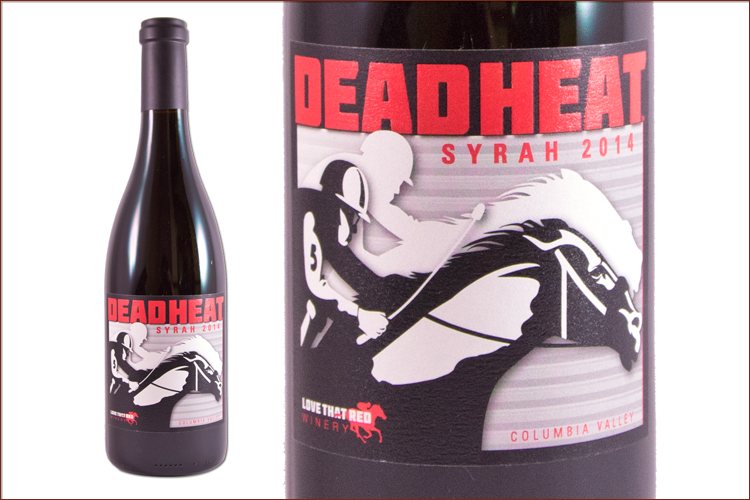 Love That Red Winery 2014 Dead Heat Syrah