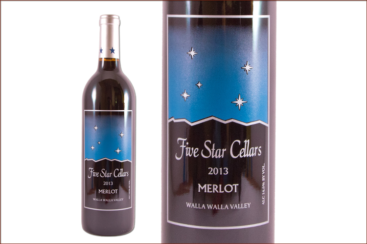 Five Star Cellars 2013 Merlot