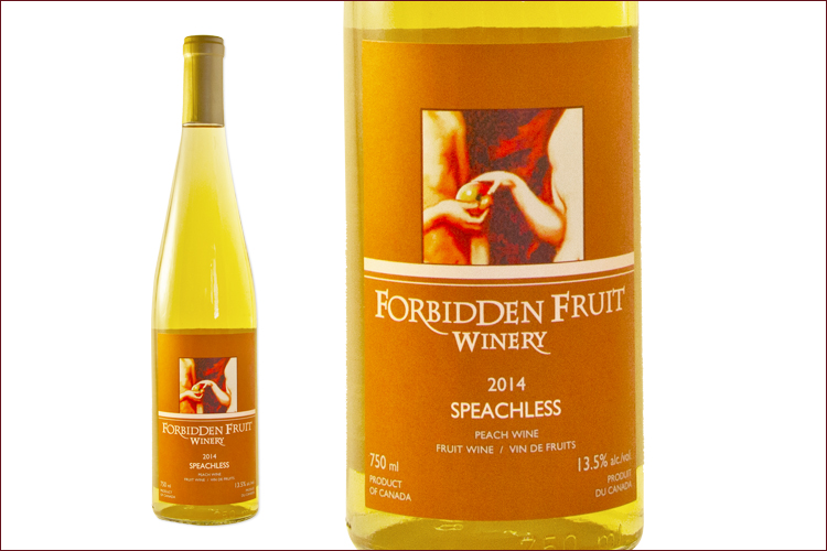 Forbidden Fruit Winery 2014 Speachless