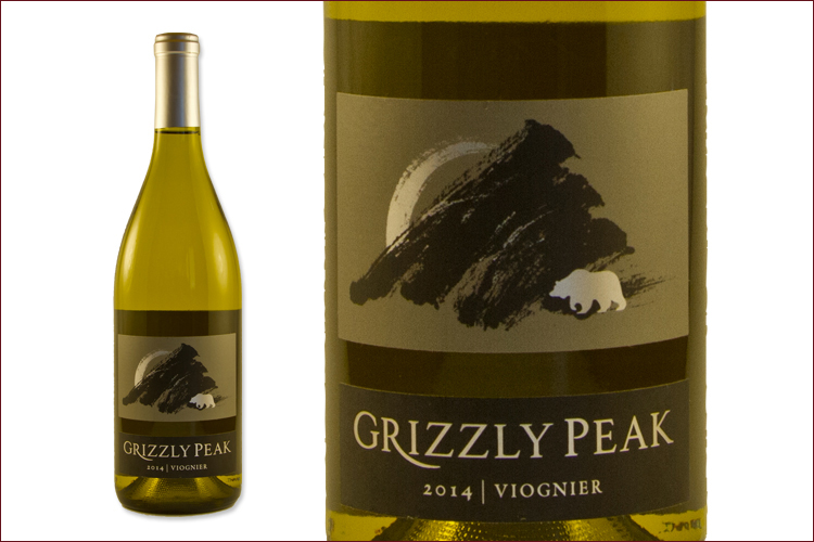 Grizzly Peak 2014 Viognier