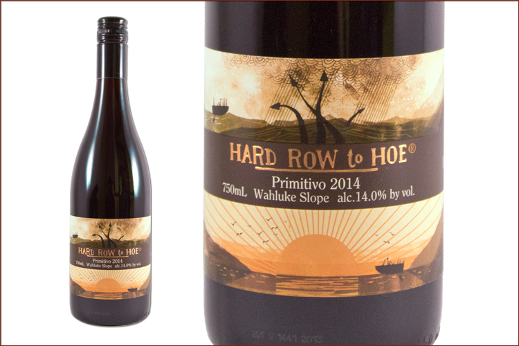 Hard Row To Hoe Vineyards 2014 Primitivo