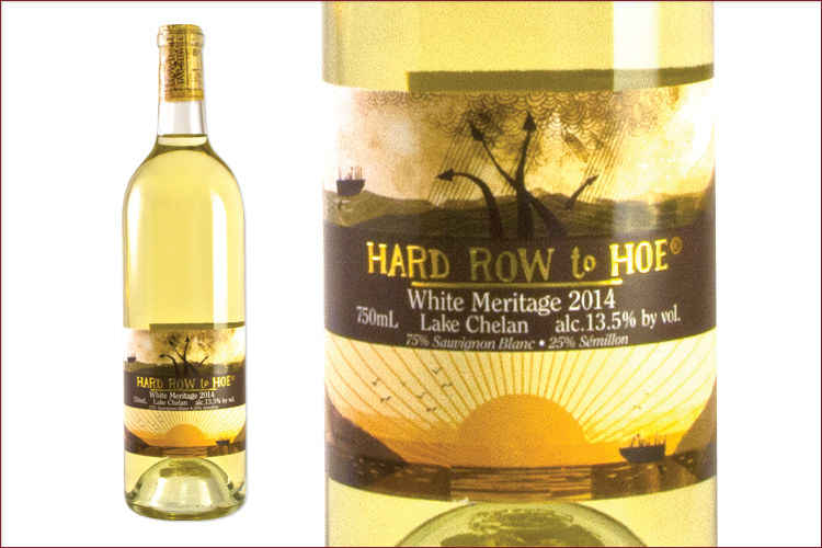 Hard Row to Hoe Vineyards 2014 White Meritage