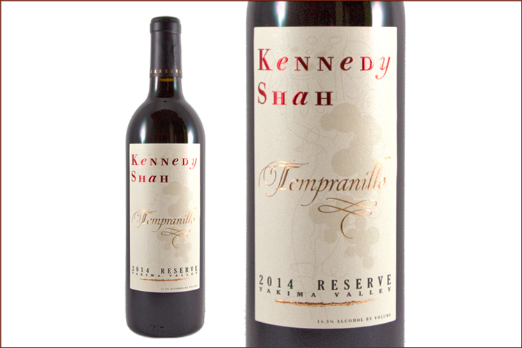 Kennedy Shah 2014 Reserve Tempranillo wine bottle