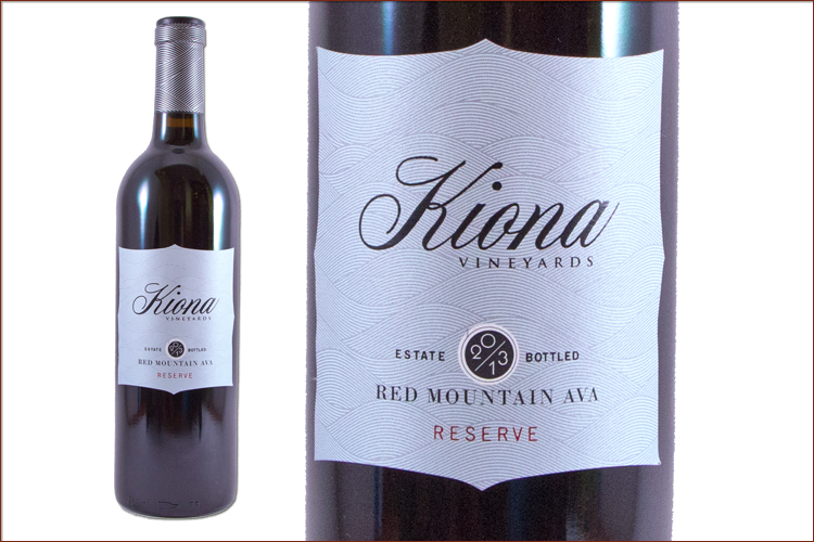 Kiona Vineyards & Winery 2013 Estate Red Mountain Reserve