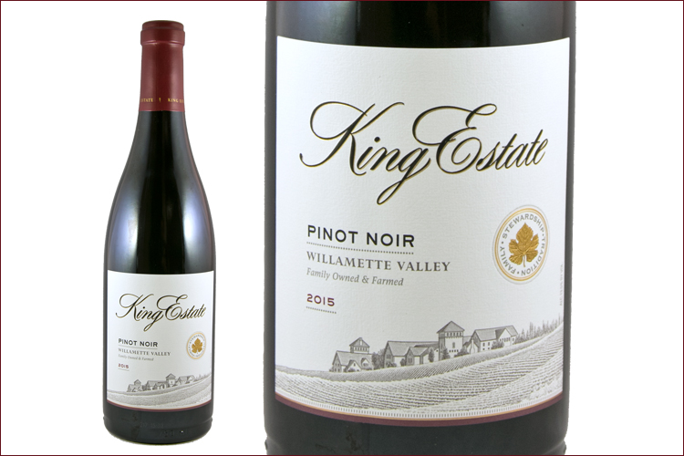 King Estate Winery 2015 Willamette Valley Pinot Noir