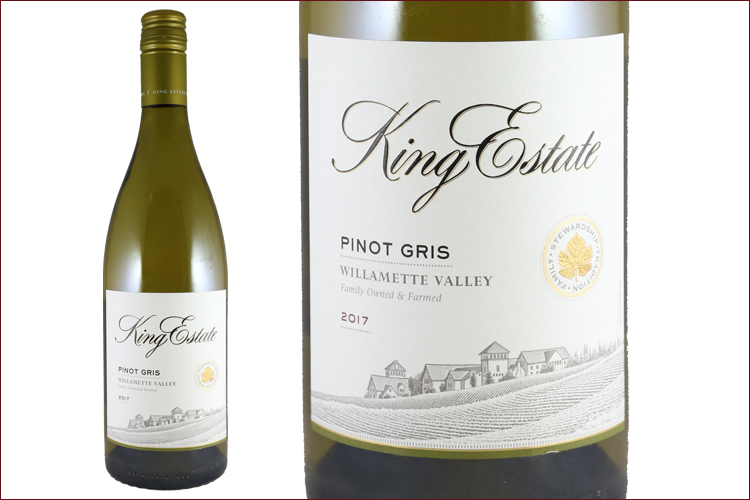 King Estate Winery 2017 Willamette Valley Pinot Gris