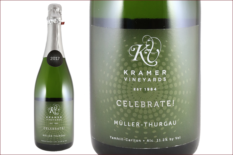 Kramer Vineyards 2017 Celebrate! Muller-Thurgau