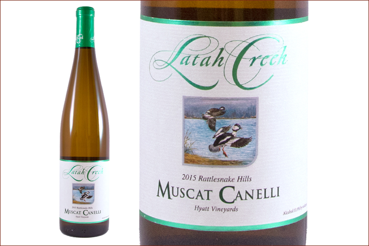 Latah Creek Wine Cellars 2015 Muscat Canelli
