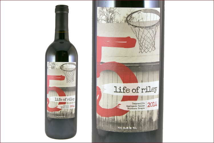 Red Lily Vineyards 2014 Life of Riley Tempranillo