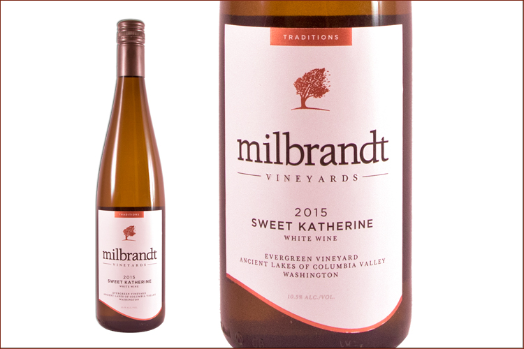 Milbrandt Vineyards 2015 Traditions Sweet Katherine Riesling