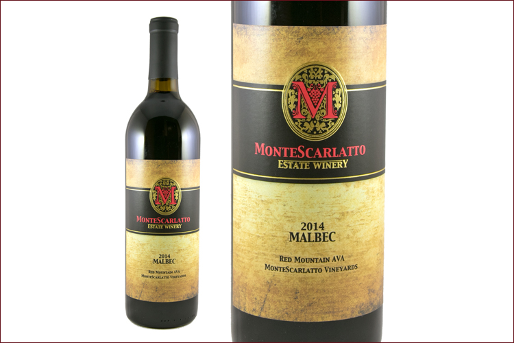 MonteScarlatto Estate 2014 Estate Malbec
