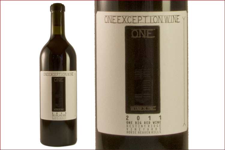 One Wines 2011 One Exception Red Wine