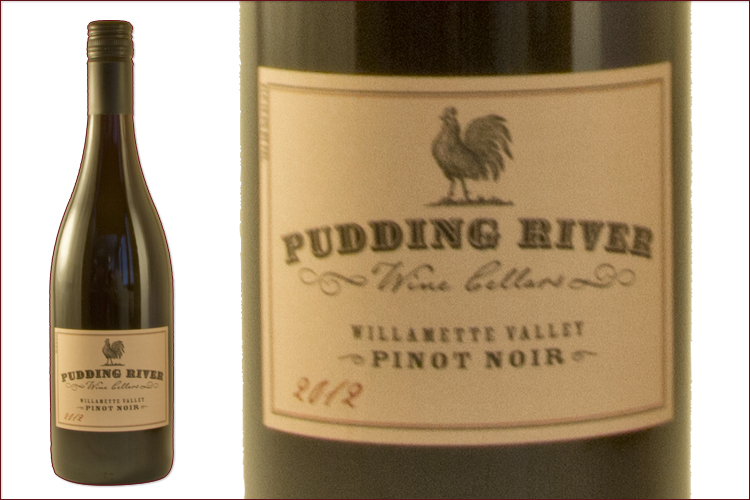 Pudding River Wine Cellars 2012 Estate Pinot Noir