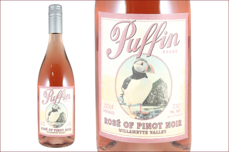 Puffin Wines 2018 Rose of Pinot Noir