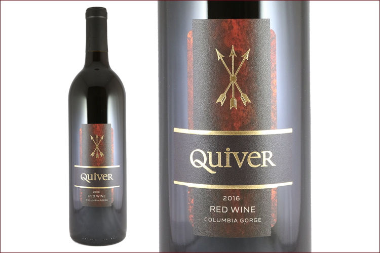 Stave & Stone Winery 2016 Quiver Red Wine bottle