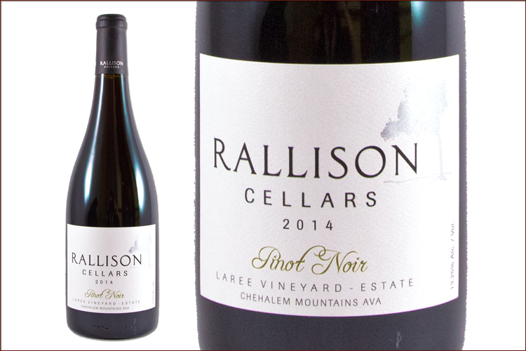 Rallison Cellars 2014 Pinot Noir Laree Vineyard