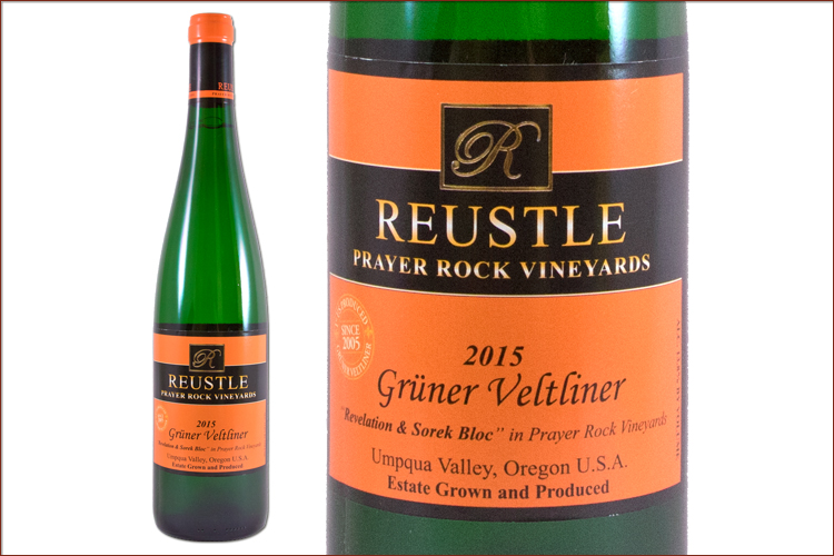 Reustle Prayer Rock Vineyards 2015 Gruner Veltliner