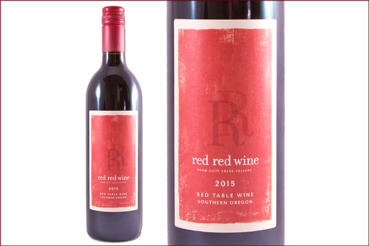 Cliff Creek Cellars 2015 Red Red Wine