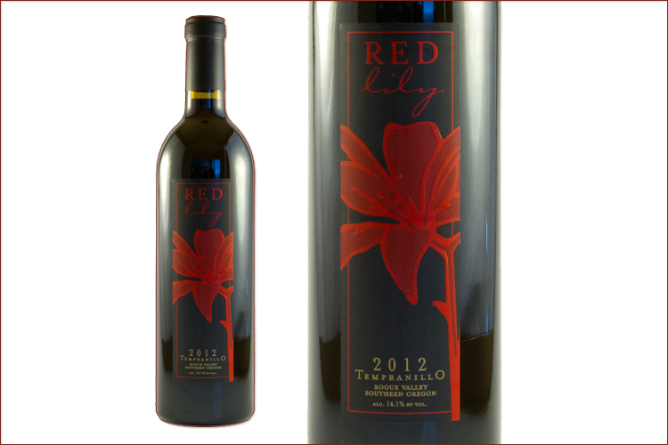 Red Lily Vineyards 2012 Tempranillo