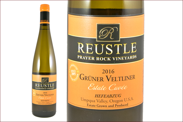Reustle Prayer Rock Vineyards 2016 Gruner Veltliner Estate Cuvee