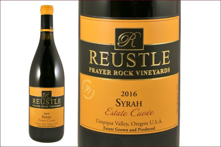 Reustle Prayer Rock Vineyards 2016 Estate Cuvee Syrah