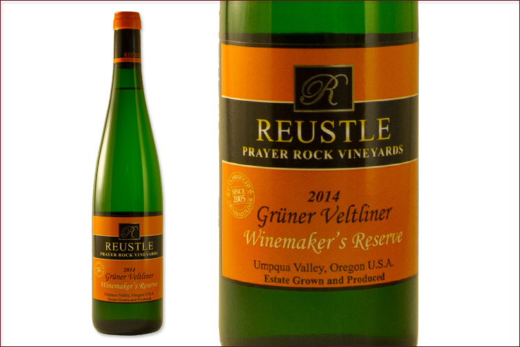 Reustle Prayer Rock Vineyards 2014 Gruner Veltliner Winemaker's Reserve