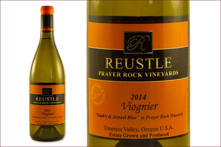 Reustle Prayer Rock Vineyards 2014 Viognier