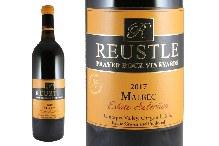 Reustle Prayer Rock Vineyards 2017 Malbec Estate Selection