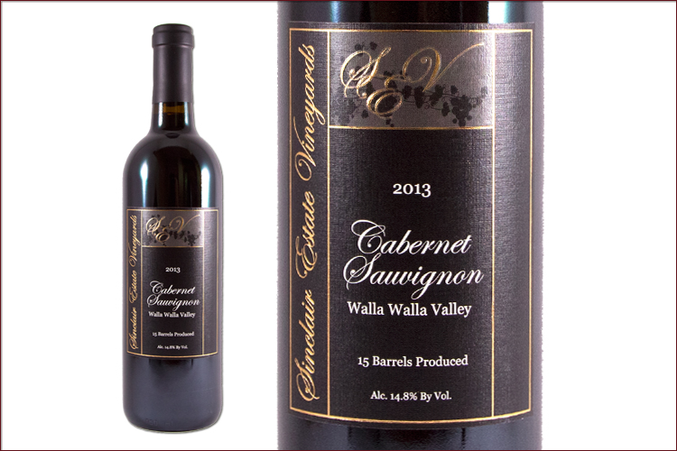 Sinclair Estate Vineyards 2013 Cabernet Sauvignon