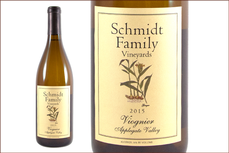 Schmidt Family Vineyards 2015 Viognier