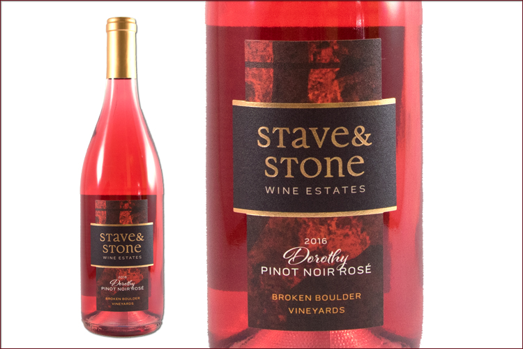Stave & Stone Winery 2016 Dorothy Pinot Noir Rose