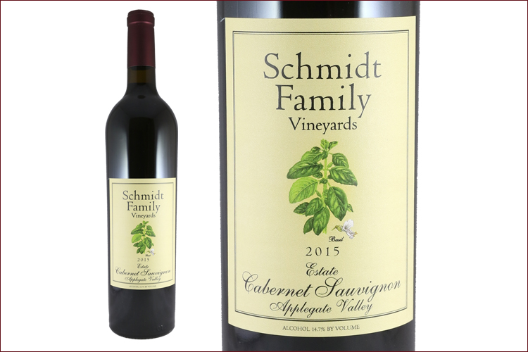 Schmidt Family Vineyards 2015 Estate Cabernet Sauvignon