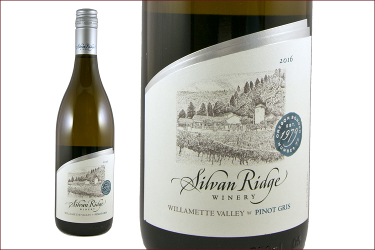 Silvan Ridge Winery 2016 Pinot Gris