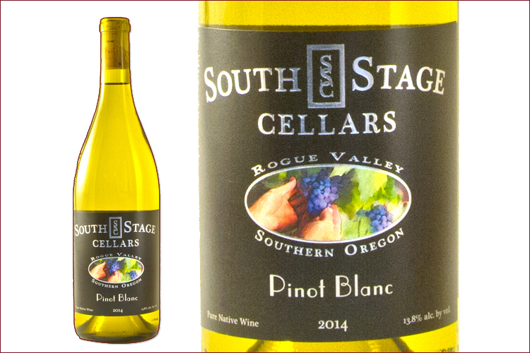 South Stage Cellars 2014 Pinot Blanc