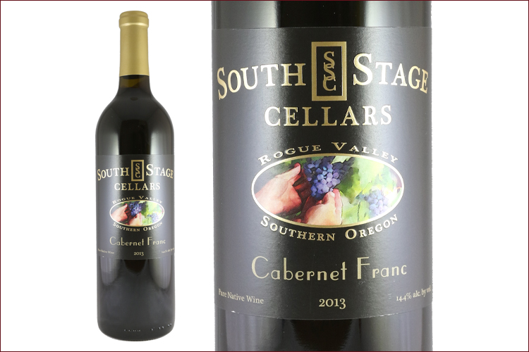South Stage Cellars 2013 Cabernet Franc