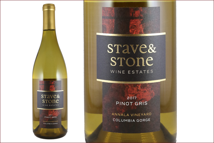 Stave & Stone Winery 2017 Annala Vineyard Pinot Gris