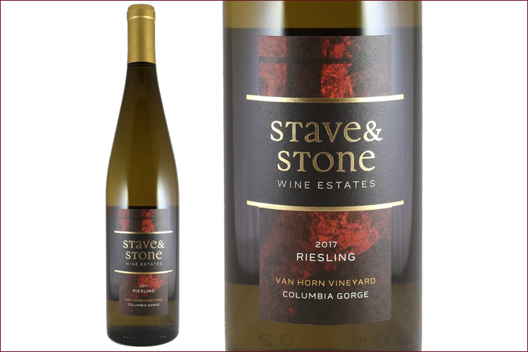 Stave & Stone Winery 2017 Van Horn Vineyard Riesling
