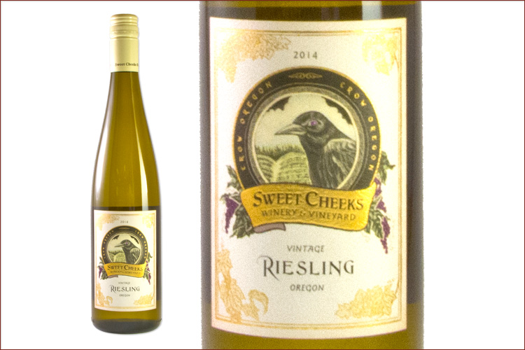 Sweet Cheeks Winery 2014 Riesling