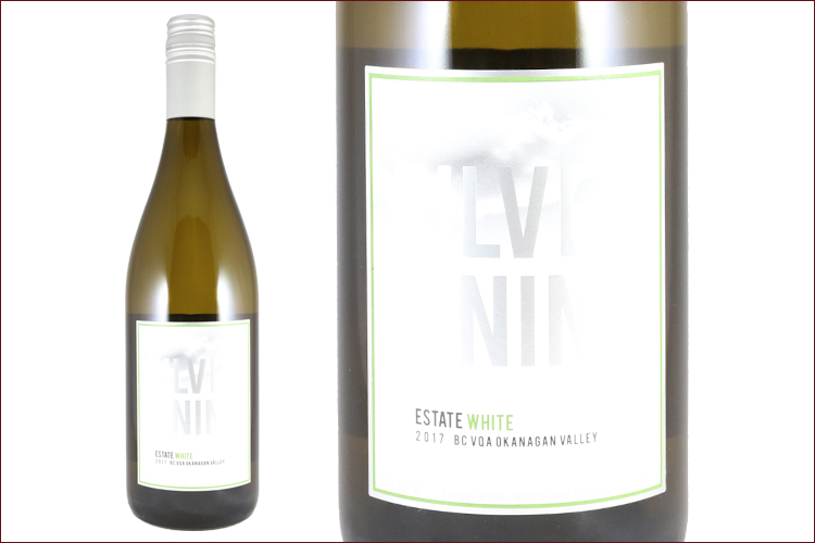 The View Winery & Vineyard 2017 Silver Lining Estate White bottle